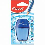 Apontador de Plastico Maped Shaker Com Deposito 634753 09703