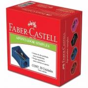 Apontador Simples Faber-Castell 50 Un. AP/50ZF 04223