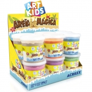 Areia Magica Acrilex 200gr Cores Sortidas 5912 29722