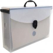 Pasta Arquivo Dello Slim Line Polipropeno Com 6 Pastas Cristal Suspenso 2160.H 24680