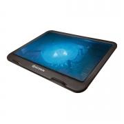 Base Cooler Para Notebook Hoopson Com Led Azul Preto BPN-003 30094