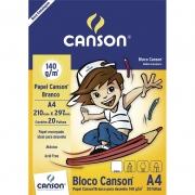 Bloco Branco Para Desenho A4 140gr 20 Fls 66667070 Canson 03377