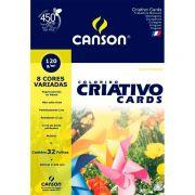 Bloco Canson Criativo 8 Cores Estudante 32 Folhas A3 120G  66667161 25127