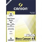 Bloco Canson Para Desenho Estudante Branco A4 20 Fls 66667164 24845