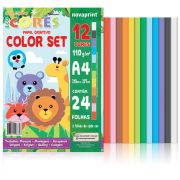 Bloco Color Set Ecocores A4 21X29,7 24 Fls Eccs0001 28899