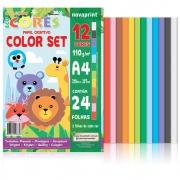 Bloco Color Set Ecocores A4 21X29,7 24 Fls Eccs0001 28899