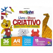 Bloco Criativo Livro Origami Todo Livro A4 36 Fls 1149512 28098