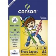 Bloco de Layout A4 50 Fls 66667074 Canson 03381