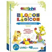 Bloco Logico Livro Matemática Também Se Brinca Todo Livro 1151720 28097