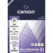 Bloco Milimetrado A3 50 Fls 66667084 Canson 03380