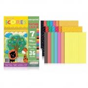 Bloco Novaprint Ecocores Textura 2 180Gr 32X23 36 Fls Eccvt0002 28829