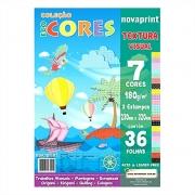 Bloco Novaprint Ecocores Textura 32X23 36 Fls Eccvt0001 28821