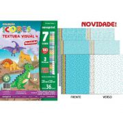 Bloco Novaprint Ecocores Textura 4 180Gr 32X23 36 Fls Eccvt0004 28819
