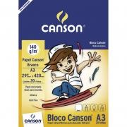 Bloco Para Desenho A3 20 Fls 140gr 66667071 Canson 04557