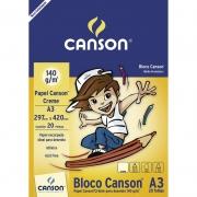 Bloco Para desenho A3 Creme 20 Fls 140g 66667073 Canson 14122