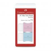 Borracha Faber-Castell Com Capa Tons Pastel 2 Un 7024MAR 26245