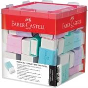 Borracha Faber-Castell TK Plast Pequena Tons Pastel 24 Un. 7024MAR 26252