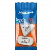 Borracha Mercur Oval + Delta Branca Pull Pack B01010301060 26402