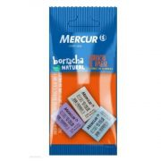 Borracha Mercur Record 40 Color Branca / Lilas / Azul 3 Un. B01010301059 28189