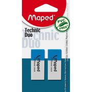 Borracha Technic Duo com 2 Un. 011712 Maped 21104