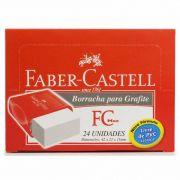 Borracha Tk Plast Pequena com 24 Un. Faber-Castell 03255