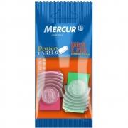 Borracha Tr com Capa Pull Pack 2 Uni. Mercur 14276
