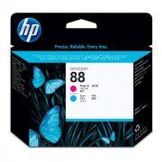 Cabeça de Impressão HP 88 C9382A Magenta e Ciano 09488