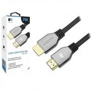 Cabo HDMI Gold 2.1 Ultra HD 8K 1,5M Pix 018-2121 29573