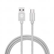 Cabo Micro USB  XTRAX  1,5 metros Prata MOCM15PR 30260