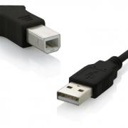 Cabo USB Para Impressora 1.8 Metros WI027 Multilaser 18194