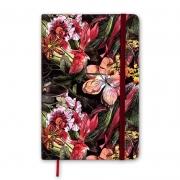 Caderneta Cicero Floral Hype Vinho Sem Pauta 14X21 1516 27377
