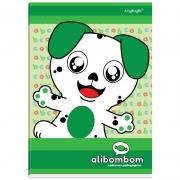Caderno Alibombom Brochurão Numerado 1 2 3 Verde 60 Fls 11150