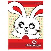 Caderno Alibombom Brochurão Numerado 1 2 3 X Vermelho 60 Fls 11151