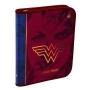 Caderno Argolado DAC Universitário Mulher Maravilha Com Elastico 48 Fls 3275 29539
