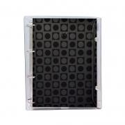 Caderno Argolado DAC Vision 1/4 Capa Pvc Preto 192 Fls 153 mm x 223 mm 2673Pr 28454