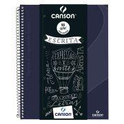 Caderno Canson Espiral Com Pauta 80 Fls A4 90Gm2 Expressão Azul Marinho 70430263Br 28265