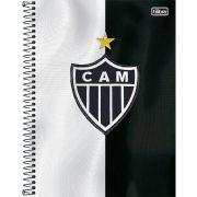 Caderno Capa Dura Universitário Atlético Mineiro 1X1 96 Fls. 119423 Tilibra 12182