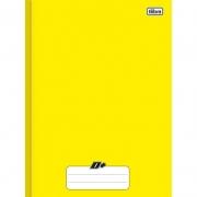 Caderno Capa Dura Universitário Brochurão 48 Fls Mais Amarelo 116769 24271