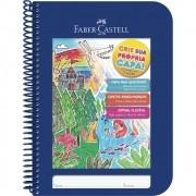 Caderno Criative Faber-Castell Capa Dura Universitário 96 Fls Azul Cdn/Az 29949