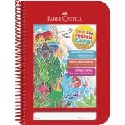 Caderno Criative Faber-Castell Capa Dura Universitário 96 Fls Vermelho Cdn/Vm 29951