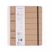 Caderno Criativo Argolado Cicero Colegial Kraft 8751 30027