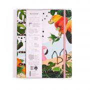 Caderno Criativo Argolado Cicero Verão Flamingo 8799 29028