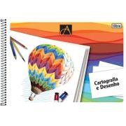 Caderno Espiral Cartografia / Desenho Com Seda 48 Fls 110469 Tilibra 05077