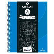 Caderno Espiral Pautado Expressão & Arte Azul Turquesa 90G 80 Fls 70430264BR 27780