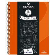 Caderno Espiral Pautado Expressão & Arte Laranja 90G 80 Fls 70430265BR 27781