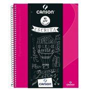 Caderno Espiral Pautado Expressão & Arte Rosa Pink 90G 80 Fls 70430266BR 27782