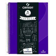 Caderno Espiral Pautado Expressão & Arte Ultra Violeta 90G 80 Fls 70430267BR 27783
