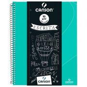 Caderno Espiral Pautado Expressão & Arte Verde Tifany 90G 80 Fls 70046818R 27778