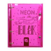 Caderno Fichário DAC 1/4 Cristal Bubble Color Rosa 192 Fls 2396Rs 28457