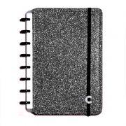 Caderno Inteligente A5 Glitter Black CIA52056 28084